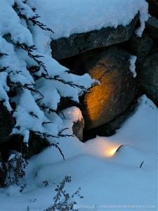 Light in snow 1