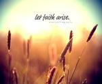 faith arise